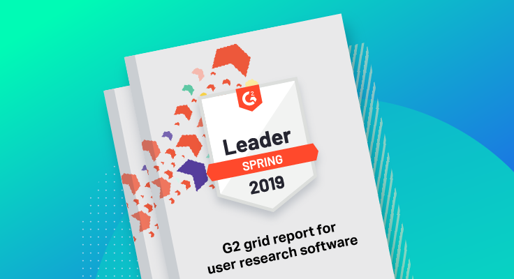 G2 Grid® Report for User Research Software cover
