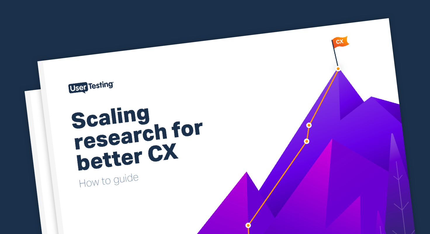 Scaling research for better CX