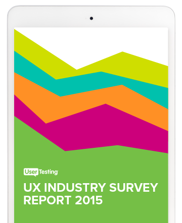 2015 UX Industry Survey Report screenshot