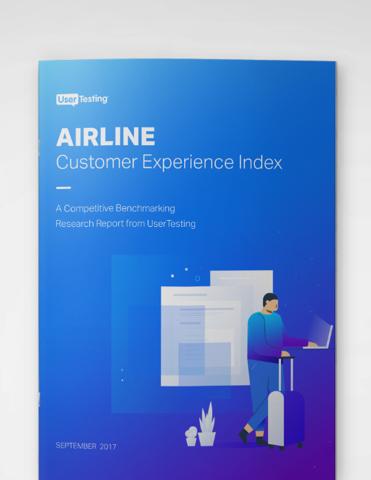 Airline Customer Experience Index cover
