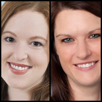 Headshot of Kelly Price and Janelle Estes