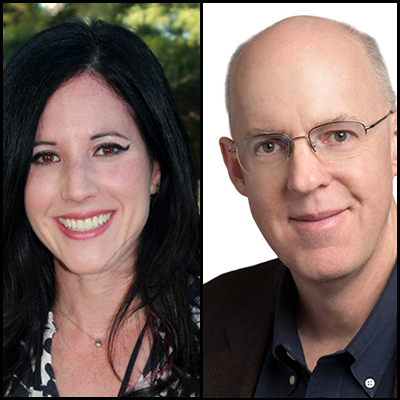 Headshot of Michael Mace and Tamara Weinstein
